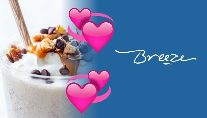 Breeze Valentine's Burger & Shake Special
