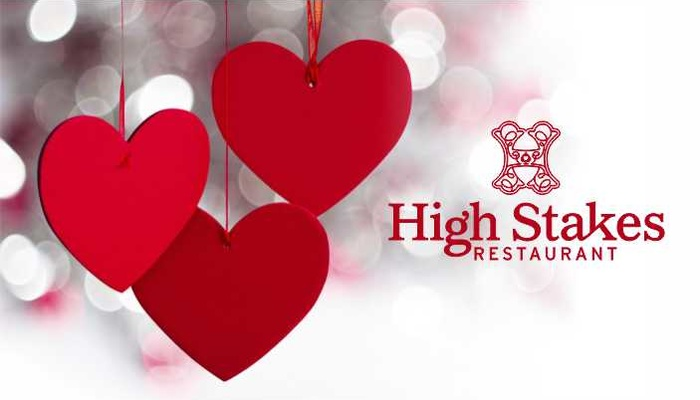 Valentine's Dinner at High Stakes
